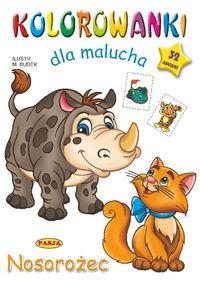 Kolorowanki dla malucha Nosorożec - Mariola Budek