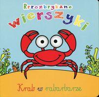 Rrrozbrykane wierszyki Krab w rabarbarze - Urszula Kozłowska