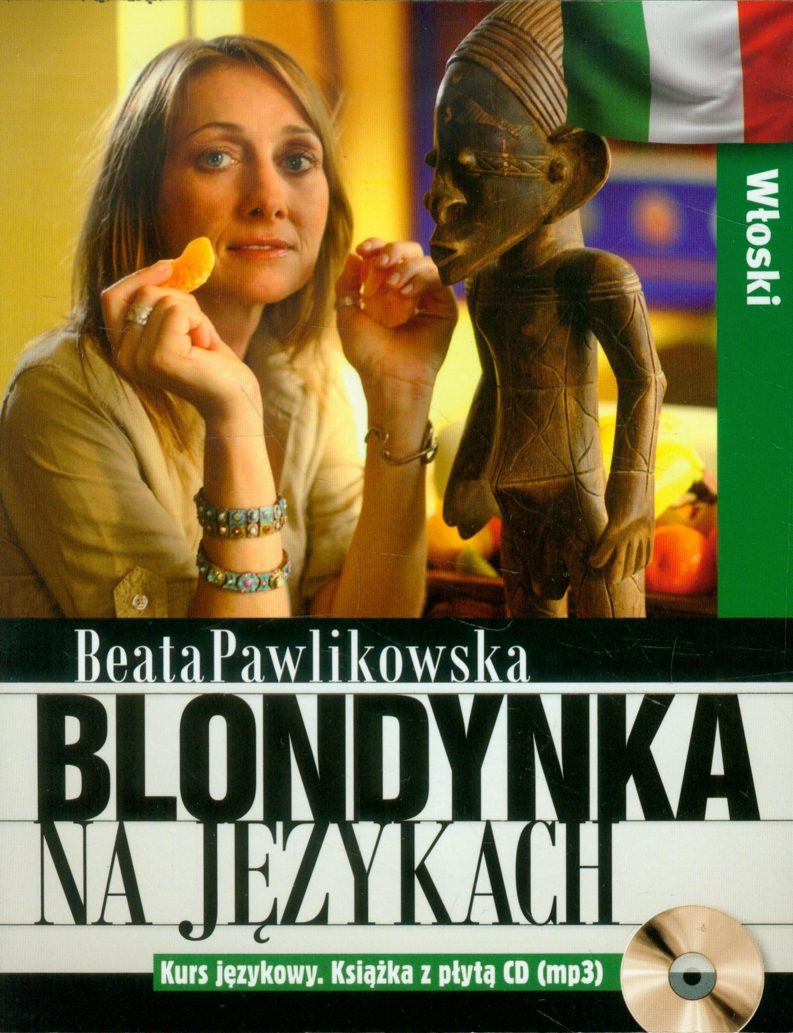 Blondynka na językach. Włoski + CD - Beata Pawlikowska