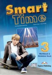 Smart Time 3. Workbook & Grammar Book. Zeszyt ćwiczeń dla gimnazjum - Virginia Evans, Jenny Dooley