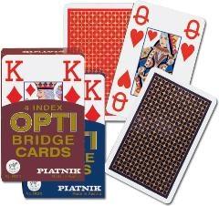 Piatnik, karty, brydż, Opti brydż, 4 indeksy Mix - praca zbiorowa