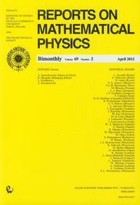 Reports on Mathematical Physics 69/2 Kraj - brak
