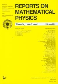 Reports on Mathematical Physics 67/1 Kraj - brak