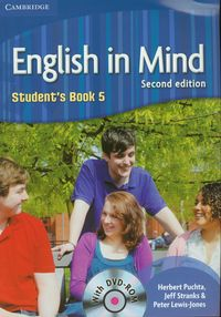 English in Mind 5 Student's book z płytą DVD - Puchta Herbert, Stranks Jeff, Lewis-Jones Peter