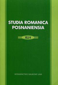 Studia Romanica Posnaniensia 41/1 - brak