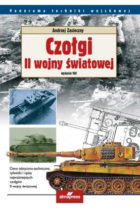 Czołgi II wojny światowej - Andrzej Zasieczny