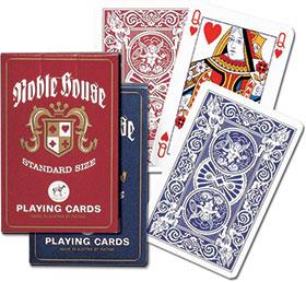 Piatnik, karty standard, Noble House - praca zbiorowa