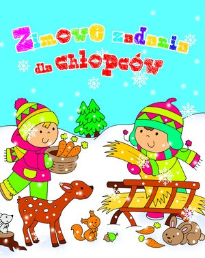 Zimowe zadania dla chłopców - Krzysztof Wiśniewski