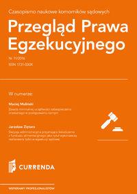 Przegląd Prawa Egzekucyjnego 11/2016 - brak