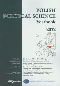 Polish Political Science Yearbook 2012 - brak