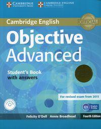 Objective Advanced Student's Book with answers+CD - praca zbiorowa