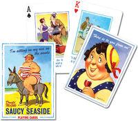 Karty Saucy Seaside 1 talia - brak