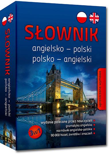 Słownik angielsko-polski, polsko-angielski 3w1 - praca zbiorowa