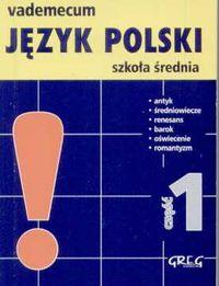 Vademecum mini. Język polski część 1 - Wojciech Rzehak